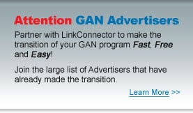 Partner with Linkconnector to make the transition of your GAN program Fast, Free, and Easy!